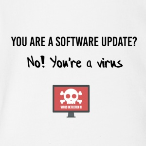 You are a software update? - Short Sleeve Baby Bodysuit