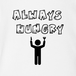 Always hungry - Short Sleeve Baby Bodysuit