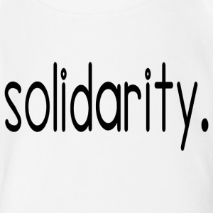 solidarity - Short Sleeve Baby Bodysuit