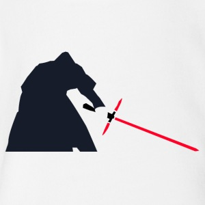 Kylo Ren Lightsaber - Short Sleeve Baby Bodysuit
