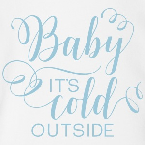 Baby It's Cold Outside - Short Sleeve Baby Bodysuit
