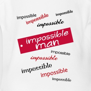 impossible man - Short Sleeve Baby Bodysuit