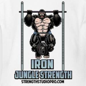 Iron Jungle Strength - Short Sleeve Baby Bodysuit