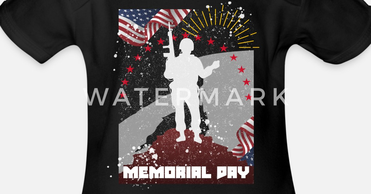 America S Memorial Day Gift Ideas T Shirt Organic Short Sleeved Baby