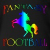 Fantasy Football Unicorn - Organic Short Sleeve Baby Bodysuit