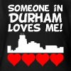 Someone In Durham North Carolina Loves Me - Short Sleeve Baby Bodysuit
