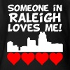Someone In Raleigh North Carolina Loves Me - Short Sleeve Baby Bodysuit