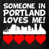 Someone In Portland Oregon Loves Me - Short Sleeve Baby Bodysuit