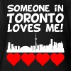 Someone In Toronto Ontario Loves Me - Organic Short Sleeve Baby Bodysuit