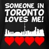 Someone In Toronto Ontario Loves Me - Short Sleeve Baby Bodysuit