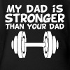 My Dad Is Stronger Than Your Dad - Short Sleeve Baby Bodysuit