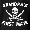Grandpa's First Mate - Short Sleeve Baby Bodysuit