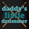 Daddy's Little Drummer - Organic Short Sleeve Baby Bodysuit