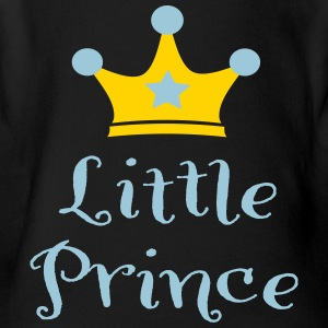 little prince - Short Sleeve Baby Bodysuit