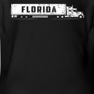 Commercial Drivers License Florida CDL Training Shirt - Short Sleeve Baby Bodysuit