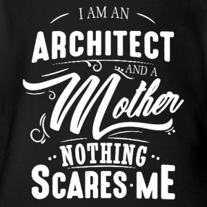 Architect And Mother Shirt - Short Sleeve Baby Bodysuit