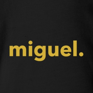 Miguel Shirt Military Gold - Short Sleeve Baby Bodysuit