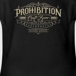 Prohibition gastrohouse - Short Sleeve Baby Bodysuit