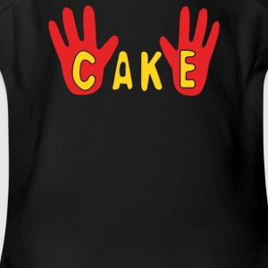 Cake - Short Sleeve Baby Bodysuit