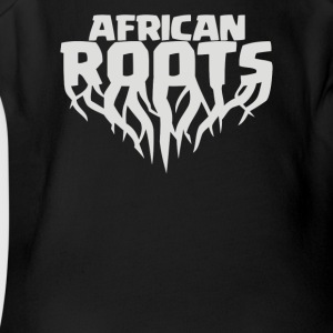 African Roots - Short Sleeve Baby Bodysuit