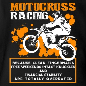 Motocross Racing Shirt - Short Sleeve Baby Bodysuit