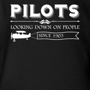 Pilot Shirt - Short Sleeve Baby Bodysuit