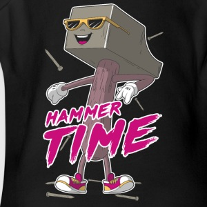 Hammer Time - Short Sleeve Baby Bodysuit