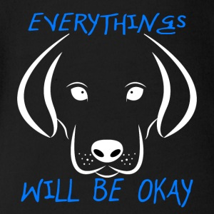 Dogs (Everything Will Be Okay) - Short Sleeve Baby Bodysuit