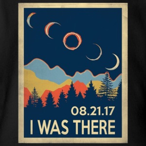 Vintage I was there Solar Eclipse 2017 - Short Sleeve Baby Bodysuit