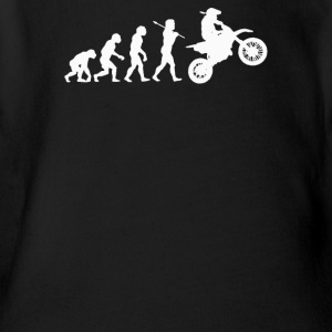 EVOLUTION MOTOCROSS - Short Sleeve Baby Bodysuit