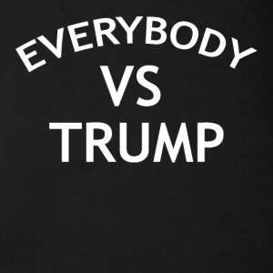 EVERYBODY VS TRUMP - Short Sleeve Baby Bodysuit