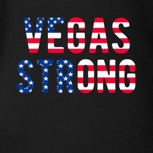 LAS VEGAS STRONG Flag T-Shirt - Short Sleeve Baby Bodysuit