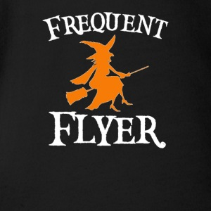 Frequent Flyer T-Shirt Perfect Halloween - Short Sleeve Baby Bodysuit