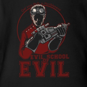 Dr.Horrible's Evil School of Evil - Short Sleeve Baby Bodysuit