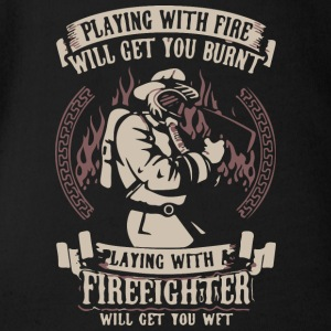 Fire Fighter - Short Sleeve Baby Bodysuit