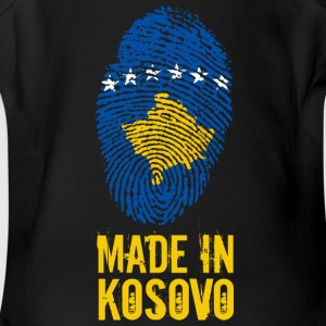 Made in Kosovo / Kosova Kosovë - Short Sleeve Baby Bodysuit
