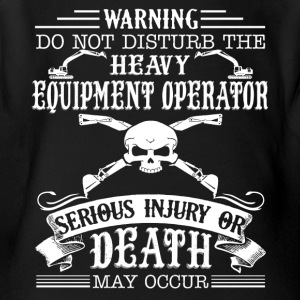 Heavy Equipment Operator Shirt - Short Sleeve Baby Bodysuit