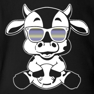 Cow Tee Shirt - Short Sleeve Baby Bodysuit