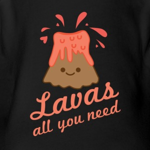 Lavas All You Need - Short Sleeve Baby Bodysuit