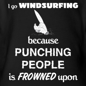 Windsurfing Love Gift- cool shirt,geek hoodie,tank - Short Sleeve Baby Bodysuit