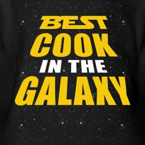 Best Cook In The Galaxy - Short Sleeve Baby Bodysuit