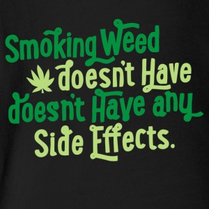 Smoking Weed - Short Sleeve Baby Bodysuit