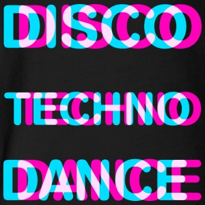 Disco dance techno - Short Sleeve Baby Bodysuit