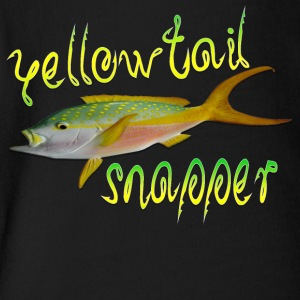 Yellowtail Snapper - Short Sleeve Baby Bodysuit
