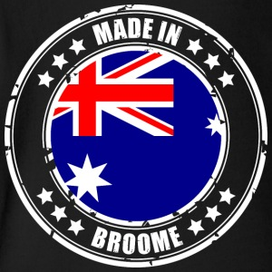 MADE IN BROOME - Short Sleeve Baby Bodysuit