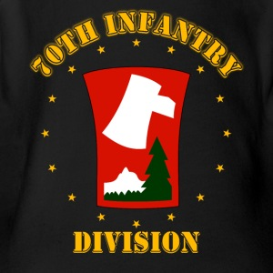 70th Infantry Division - Short Sleeve Baby Bodysuit