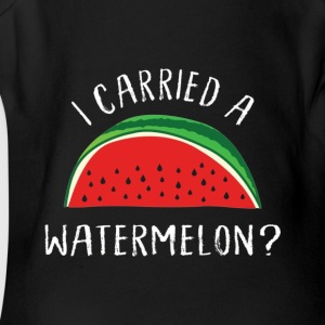 Cute I carried a watermelon Tee for 1987 Dancing m - Short Sleeve Baby Bodysuit