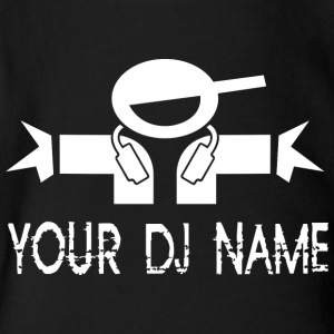 Your deejay name - Short Sleeve Baby Bodysuit