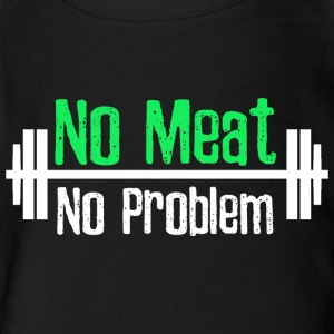 No Meat No Problem - Short Sleeve Baby Bodysuit