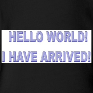 Hello World - Short Sleeve Baby Bodysuit